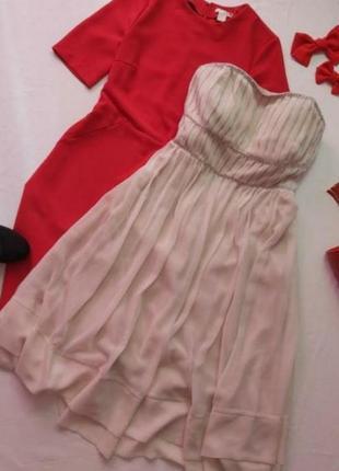 H&m нежное платье со стразами