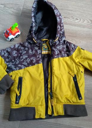 Осення курточка на мальчика