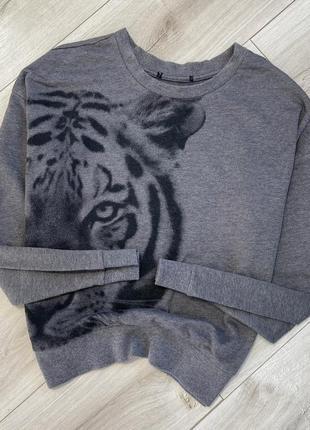 Хлопковая кофта свитер