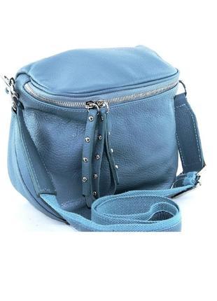 Стильные сумки через плечо разные цвета vera pelle