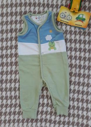 Комбинезон безрукавка для малыша