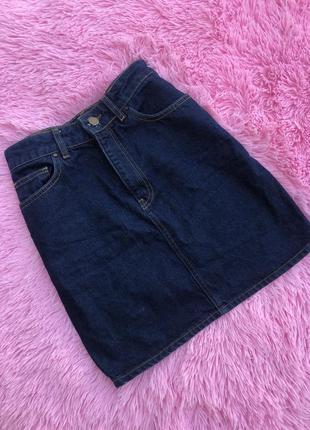 Идеальная джинсовая юбка