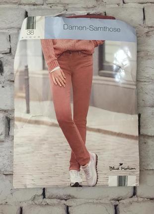 Розовые джинсы бархатные штаны брюки хлопок новинка