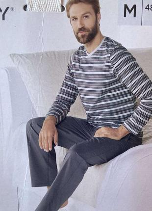 Пижама мужская домашний костюм livergy германия