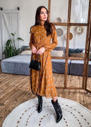 Платье 👗 женское шифоновое на подкладке