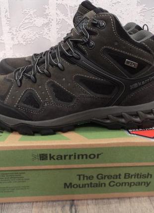 Мужские зимние водонепроницаемые ботинки karrimor р 43