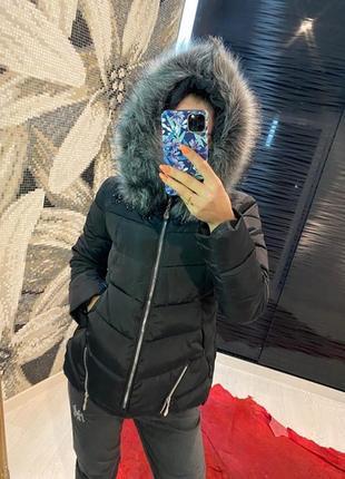 Куртка евро зима с мехом