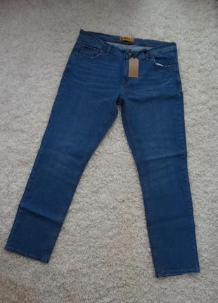 Мужские классические джинсы n/jeans 60-62 размер/5xl-6xl