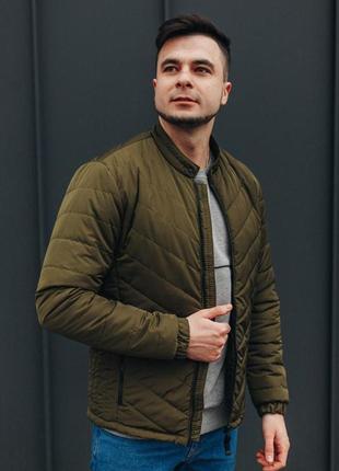 Стильна демисезонна куртка в яскравих кольорах
