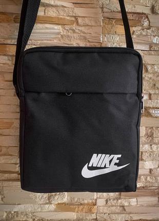 Новая классная практичная сумка через плечо 4 отдела / бананка / кроссбоди