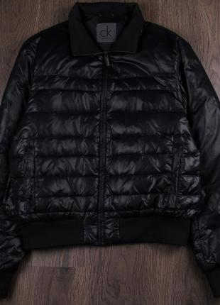Calvin klein мужской пуховик collection mens winter down jacket puffer coat