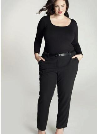 Новые чёрные брюки с золотыми змейками