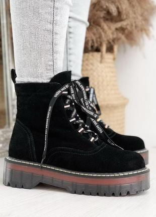 Ботиночки натуральная замша