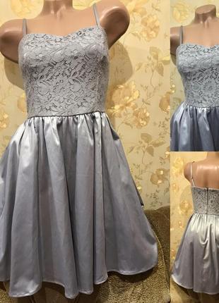Очень красивое платье с гипюром