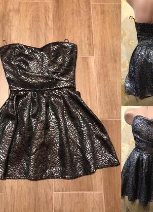 Красивое пышное платье