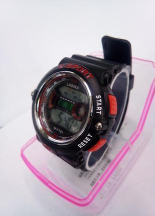 Детские,женские влагозащищенные электронные часы lasika w-f101