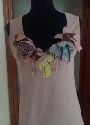 Блуза майка кофта nude george collection s-m