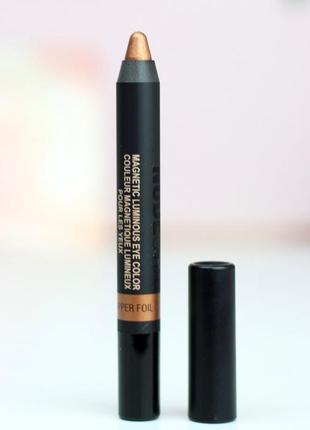 Стойкие тени-карандаш для век nudestix, медные сияющие