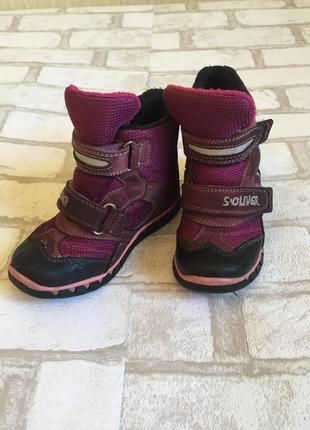 Зимние термо ботинки s.oliver