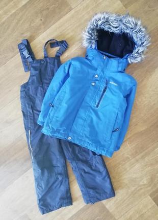 Зимняя термо, мембранная, лыжная куртка, комбез, комбенизон, комплект