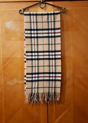 Lile & scott 100% шерсть шарф шотландия унисекс