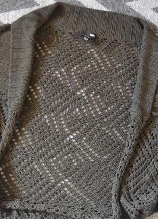 Вязанная болеро / накидка от h&m