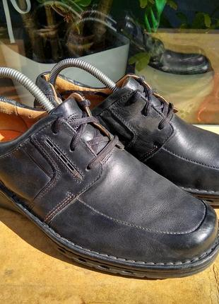 Туфли полуботинки clarks structured 40р
