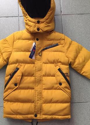 Стильные зимние курточки для мальчиков 4, 6, 10, 12 размеров