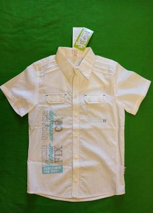 Рубашка на мальчика 122/128см