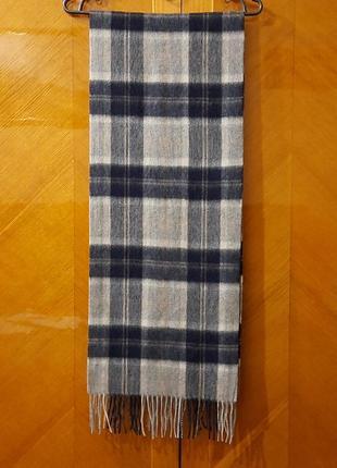Dents 100% шерсть шарф унисекс