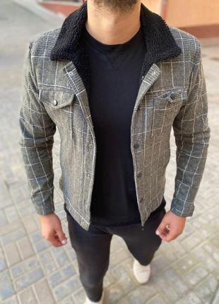 Мужской пиджак на овчине