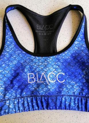 Крутой спортивный топ blacc