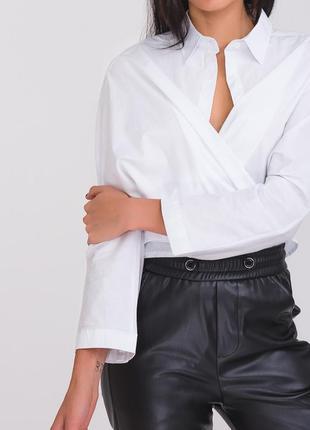 Рубашка удлиненная, оверсайз