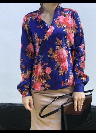 Актуальная блуза рубашка базовая