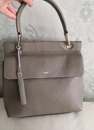 Мега стильная роскошная кожаная сумочка paul costelloe👜👜💥🔥🌹