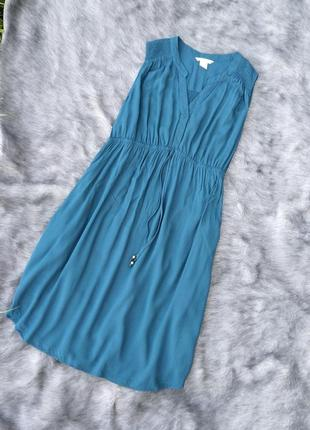 Платье из натуральной вискозы h&m
