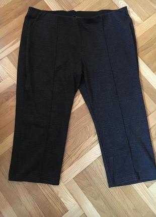 Батал большой размер стильные штаны штаники брюки брючки бриджи