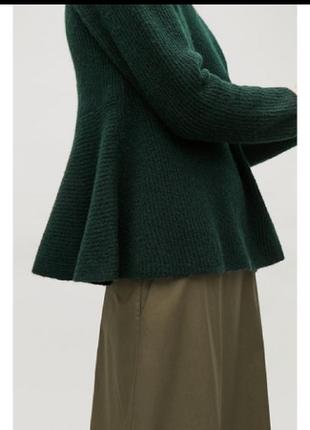 Cos шерстяной джемпер, свитер, кофта