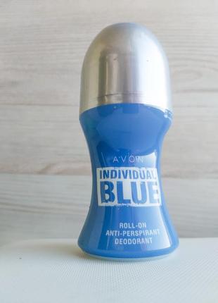 Avon individual blue for him  дезодорант-антиперспирант с шариковым аппликатором