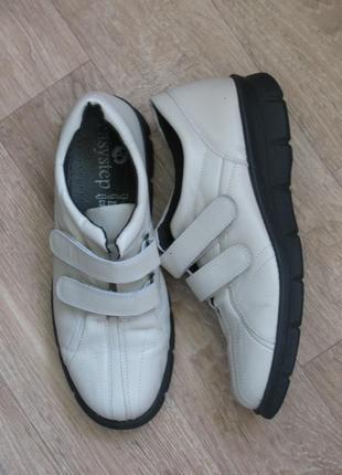 Ортопедческие закрытые теплые туфли полуботинки брэнд easystep легкий шаг англия