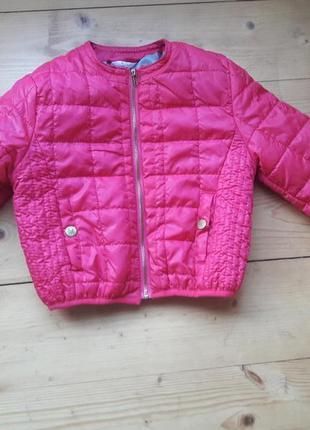 Куртка деми на девочку осенняя