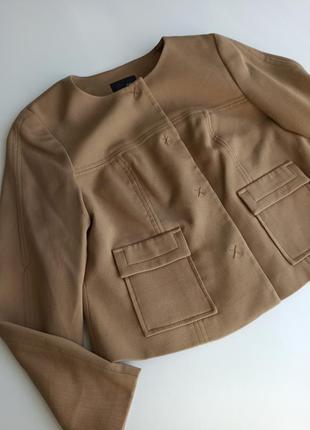 Красивый стильный  укороченный жакет / пиджак
