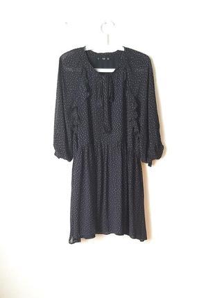 Стильное вискозное платье