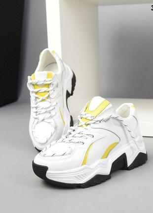 36-40. брутальные кроссовки на массивной подошве. люкс качество