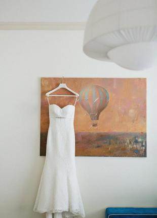 Свадебное платье рыбка dominiss