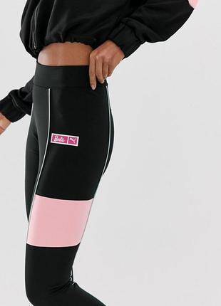 Спортивные лосины  с новых коллекций puma x barbie  ® leggings black