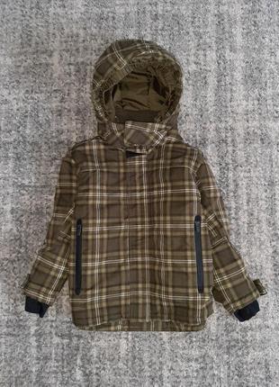 Куртка хододная осень-зима 4-5 лет