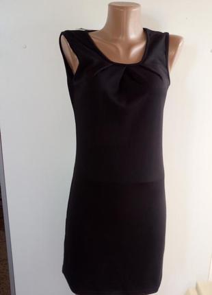 Чорне класичне плаття(черное классическое платье)