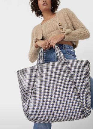 Дутая сумочка ,шопер