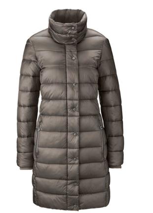 Стеганное ультролегкое деми пальто от tchibo германия размер 46 евро=52